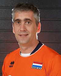 07-10-2017 NED: Portret zitvolleybalteam Oranje mannen 2017-2018, Doorn<br /> Nederland bereidt zich voor op het komende EK zitvolleybal / Robert Jelle Breunesse