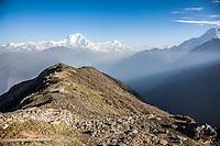 Dhaulagiri & Annapurna Range Views from Khopra Ridge