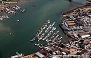aerial photograph of Southampton Hampshire UK