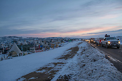 December 3, 2016 - Thousand of US Army veterans arrived at Oceti Sakowin Camp at Standing Rock, ND to help water protectors prepare for the winter (Credit Image: © Dimitrios Manis via ZUMA Wire)