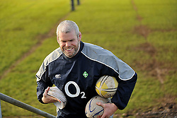 Castlebar Junior Rugby Coach Peter Bracken February 2014,<br /> Pic Conor McKeown