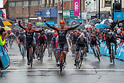 Jesper Asselman of Roompot - Charles wins stage 1 of the 2019 Tour de Yorkshire during the first stage of the Tour de Yorkshire from Doncaster to Selby, Doncaster, United Kingdom on 2 May 2019.