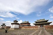 the Erdene Zuu monestry Mongolia