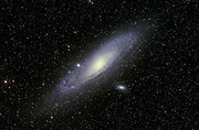 The spiral galaxy Messier 31 in the contstellation Andromeda.