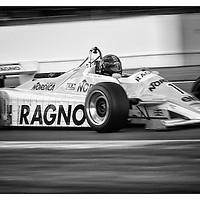 #1, Arrows A4 (1982), Steve Hartley (GB), Silverstone Classic 2015, FIA Masters Historic Formula One. 25.07.2015. Silverstone, England, U.K.  Silverstone Classic 2015.