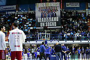 Happy Casa Brindisi - AX Armani Exchange Milano<br /> Campionato Legabasket 2018/2019 - LBA<br /> Brindisi 20/01/18<br /> Ciamillo - Castoria // Foto Vincenzo Delnegro