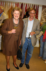 ALASTAIR & LILLIAN IRELAND at a party hosted by Kathryn Ireland held at her showroom at 65-69 Lots Road, London on 27th September 2005.<br /><br />NON EXCLUSIVE - WORLD RIGHTS