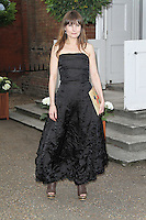 LONDON - JUNE 27: Daisy Bates attended the English National Ballet Summer Party, The Orangery, Kensington Palace, London, UK, June 27, 2012.(Photo by Richard Goldschmidt)