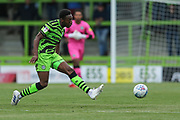 Forest Green Rovers Ebou Adams(14) during the EFL Sky Bet League 2 match between Forest Green Rovers and Grimsby Town FC at the New Lawn, Forest Green, United Kingdom on 17 August 2019.