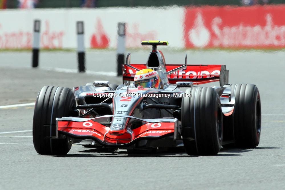 British GP Silverstone, UK,  08/07/2007 - Lewis HAMILTON, Team McLaren-Mercedes 2007 - Formel 1 - Grosser Preis von England  -  Formula 1 - copyright mandatory © ATP Arthur THILL