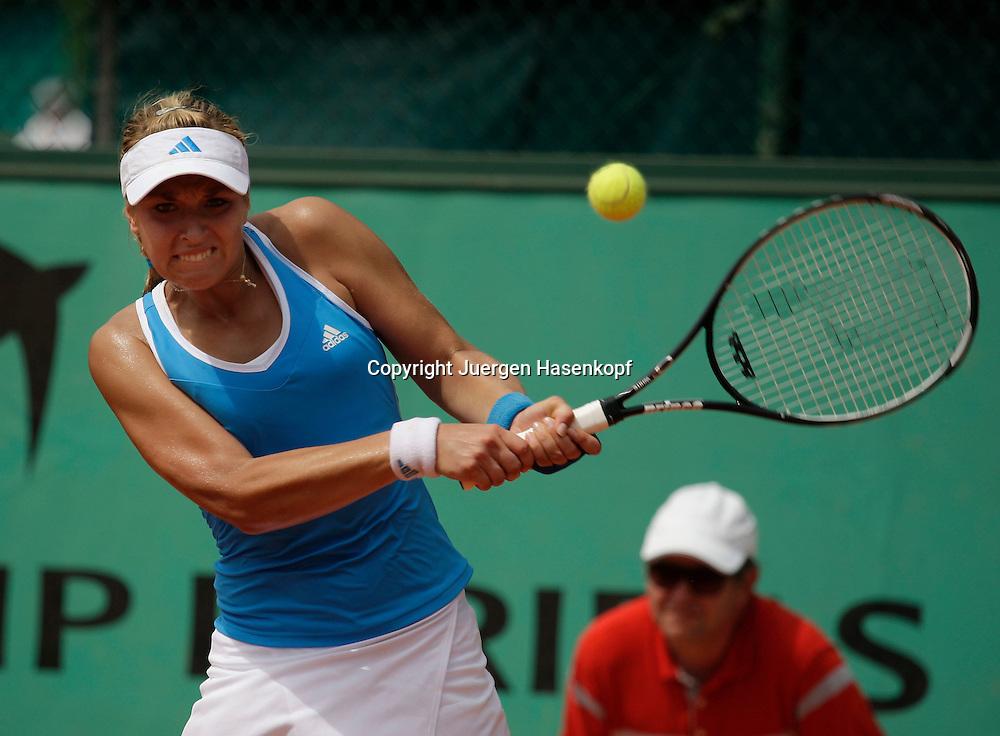French Open 2009, Roland Garros, Paris, Frankreich,Sport, Tennis, ITF Grand Slam Tournament,  Sabine Lisicki(GER)<br /> <br /> Foto: Juergen Hasenkopf