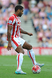 Glen Johnson of Stoke City - Mandatory byline: Dougie Allward/JMP - 07966386802 - 09/08/2015 - FOOTBALL - Britannia Stadium -Stoke-On-Trent,England - Stoke City v Liverpool - Barclays Premier League