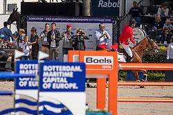 Verlooy Jos, BEL, Igor, Smolders Harrie, Weinberg Peter, GER, Verlooy Axel, BEL<br /> Rotterdam - Europameisterschaft Dressur, Springen und Para-Dressur 2019<br /> Longines FEI Jumping European Championship - 1st part - speed competition against the clock<br /> 1. Runde Zeitspringen<br /> 21. August 2019<br /> © www.sportfotos-lafrentz.de/Dirk Caremans