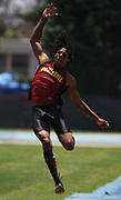 May 20, 2006; Norwalk, CA, USA; Richard Sherman of  Dominguez High won the 110-meter high hurdles and triple jump and finished third in the long jump in the CIF Southern Section Division II finals at Cerritos College.