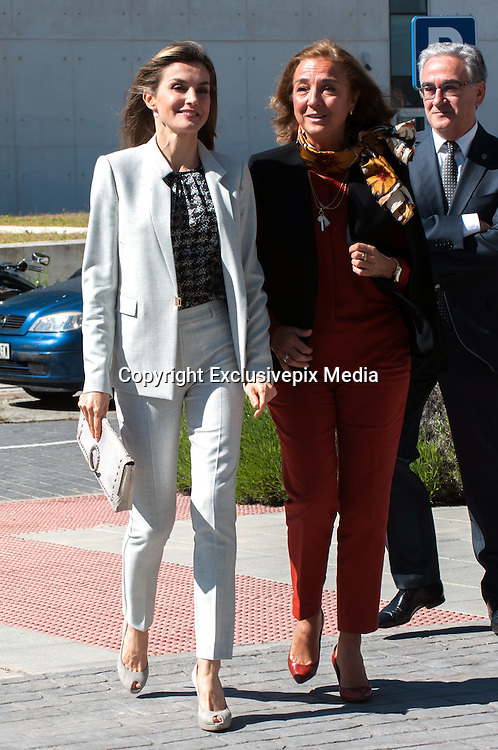 MADRID, SPAIN, 2016, MAY 03 <br /> Queen Letizia visit the premises of the Institute for Research in Food Science at the Campus of Cantoblanco of the Autonomous University of Madrid<br /> ©Exclusivepix Media