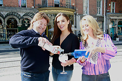 18th September 2017<br /> <br /> (L-R) Shane Byrne, Holly Carpenter and Chanelle McCoy were all on hand to help Fighting Blindness Ireland launch their annual fundraising campaign, Jeans for Genes Day September 22nd.<br /> Jeans for Genes is a campaign were by Fighting Blindness ask the people of Ireland to wear jeans for a day, in all walks of life, and try raise funds to help cure genetic sight loss.<br /> The launch took place in 37 Dawson Street in Dublin. 37 and its seventeen sister venues will all be taking part in the campaign. The staff in all 18 venues will be wearing Blue Jeans for the day and selling Blue Cocktails with all proceeds going to the charity.<br />  <br /> PIC: Lensmen