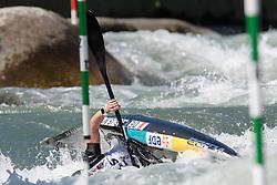 Marjorie DELASSUS of France during the Canoe Single (WK1) Womens Semi Final race of 2019 ICF Canoe Slalom World Cup 4, on June 28, 2019 in Tacen, Ljubljana, Slovenia. Photo by Sasa Pahic Szabo / Sportida