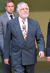 Dave Lee Travis leaving Westminster Magistrates Court in  London, Friday, 23rd August 2013. Picture by Stephen Lock / i-Images