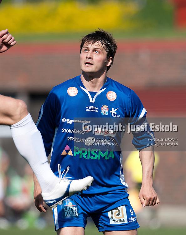Keijo Huusko. HIFK - PS Kemi Kings. Ykkönen. Helsinki 21.5.2011. Photo: Jussi Eskola