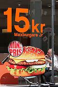 Ystad. Maxburgers.