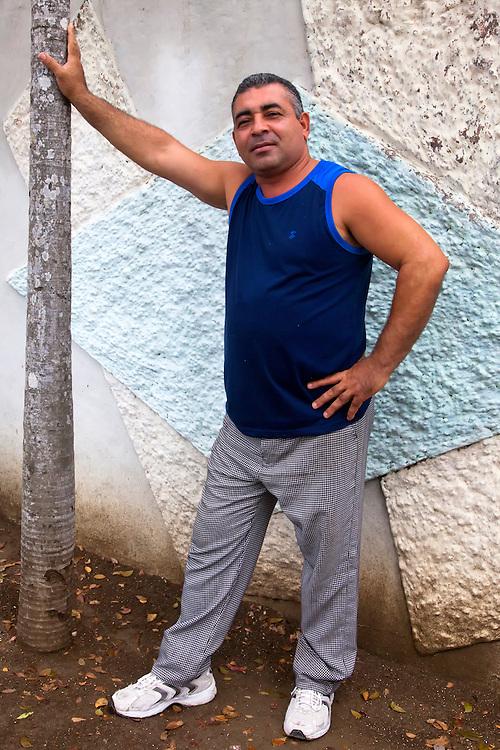 Restaurant manager in Rafael Freyre, Holguin, Cuba.