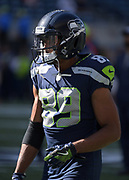 Aug 25, 2017; Seattle, WA, USA; Seattle Seahawks wide receiver Doug Baldwin (89) during a NFL football game against the Kansas City Chiefs at CenturyLink Field. The Seahawks defeated the Chiefs 26-13.