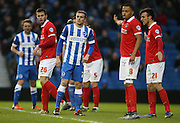 Brighton striker (on loan from Manchester United), James Wilson (21) during the Sky Bet Championship match between Brighton and Hove Albion and Charlton Athletic at the American Express Community Stadium, Brighton and Hove, England on 5 December 2015.