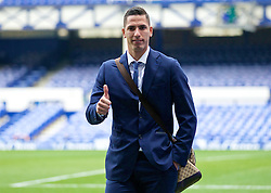 LIVERPOOL, ENGLAND - Saturday, March 12, 2016: Everton's goalkeeper Joel Robles arrives at Goodison Park before the FA Cup Quarter-Final match against Chelsea. (Pic by David Rawcliffe/Propaganda)