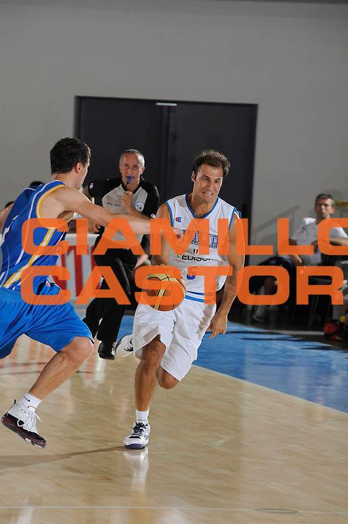 DESCRIZIONE : Bormio Torneo Internazionale Maschile Diego Gianatti Italia Svezia <br /> GIOCATORE : Jacopo Giachetti<br /> SQUADRA : Italia Italy<br /> EVENTO : Raduno Collegiale Nazionale Maschile <br /> GARA : Italia Svezia Italy Sweden <br /> DATA : 16/07/2009 <br /> CATEGORIA :  palleggio contropiede<br /> SPORT : Pallacanestro <br /> AUTORE : Agenzia Ciamillo-Castoria/G.Ciamillo