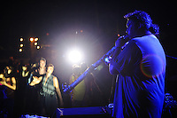 Oka performing at the Tugu Hotel for Bali Spirit Festival, 31/3/2013.