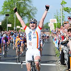 RIJSSEN (NED) wielrennen<br />ROBIN CHAIGNEAU wint de ronde van Overijssel