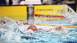 11082018 (Durban) Top Swimmer Tatjana R Schoenmaker competing in Woman 100 meters Medley heat 11 during the coastal city of Durban play host to the 2018 SA National Swimming Championships (25m), with the action set to start from 9th to 12th August at the Kings Park Aquatics Centre.<br /> Picture: Motshwari Mofokeng/African News Agency (ANA)