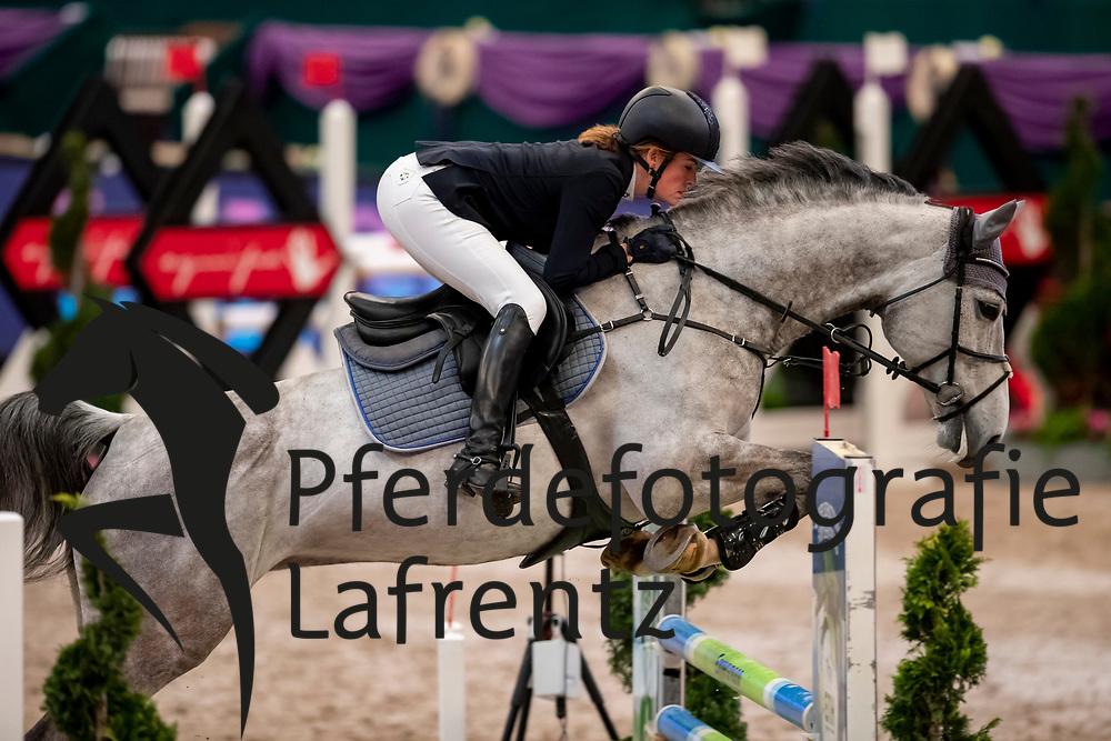 MUTH Julia (GER), Lorina<br /> Leipzig - Partner Pferd 2019<br /> SPOOKS-Amateur Trophy<br /> Small Tour<br /> 18. Januar 2019<br /> © www.sportfotos-lafrentz.de/Stefan Lafrentz