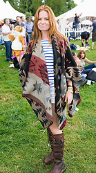 Image ©Licensed to i-Images Picture Agency. 05/07/2014. Oxford, United Kingdom. Cornbury Festival. Picture by  i-Images Pic Shows Patsy Palmer