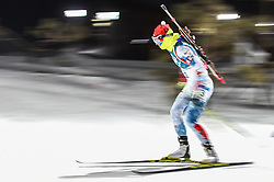 February 12, 2018 - Pyeongchang, Gangwon, South Korea - Veronika Vitkova of Czech Republic competing at Women's 10km Pursuit, Biathlon, at olympics at Alpensia biathlon stadium, Pyeongchang, South Korea. on February 12, 2018. Ulrik Pedersen/Nurphoto  (Credit Image: © Ulrik Pedersen/NurPhoto via ZUMA Press)