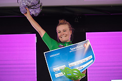 Emilie Moberg (NOR) leads the sprint classification after Ladies Tour of Norway 2019 - Stage 2, a 131 km road race from Mysen to Askim, Norway on August 23, 2019. Photo by Sean Robinson/velofocus.com