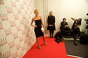 Donna Air, The Elle Style Awards 2009, The Big Sky Studios, Caledonian Road. London. February 9 2009.  *** Local Caption *** -DO NOT ARCHIVE -Copyright Photograph by Dafydd Jones. 248 Clapham Rd. London SW9 0PZ. Tel 0207 820 0771. www.dafjones.com<br /> Donna Air, The Elle Style Awards 2009, The Big Sky Studios, Caledonian Road. London. February 9 2009.