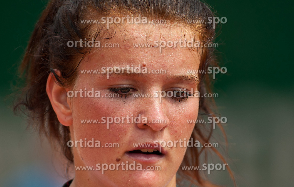 13.07.2011, Hotel Europaeischer Hof, Bad Gastein, AUT, WTA Tour, Nuernberger Gastein Ladies 2011, 1. Runde, Nastja Kolar (SLO) vs Ksenia Pervak (RUS), im Bild Nastja Kolar (SLO) // during WTA Tour Nuernberger Gastein Ladies 2011 tennis tournier, round 1 at hotel Europaeischer Hof, Bad Gastein, Austria on 13/7/2011. EXPA Pictures © 2011, PhotoCredit: EXPA/ J. Groder