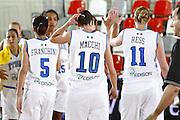DESCRIZIONE : Valmiera Latvia Lettonia Eurobasket Women 2009 Francia Italia France Italy<br /> GIOCATORE : Mariachiara Franchini Laura Macchi Kathrin Ress<br /> SQUADRA : Italia Italy<br /> EVENTO : Eurobasket Women 2009 Campionati Europei Donne 2009 <br /> GARA : Francia Italia France Italy<br /> DATA : 07/06/2009 <br /> CATEGORIA : delusione<br /> SPORT : Pallacanestro <br /> AUTORE : Agenzia Ciamillo-Castoria/E.Castoria