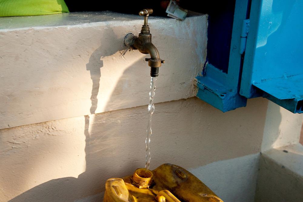 WaterAid water kiosk project. Chabota village, Chisekese ward, Zambia.
