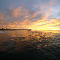 DCIM\100GOPRO\G0262265. Stunning St Clair sunrise <br />