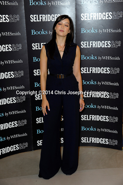 Image ©Licensed to i-Images Picture Agency. 03/07/2014. London, United Kingdom. Daisy Lowe book signing at Selfridges. Picture by Chris Joseph / i-Images