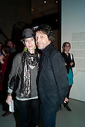 ANNA BLESSMAN; PETER SAVILE, Ron Arad; Restless. Cocktail reception hosted by Kate Bush of the Barbican and Tony Chambers of Wallpaper magazine. Barbican art Gallery. London. 17 September 2010