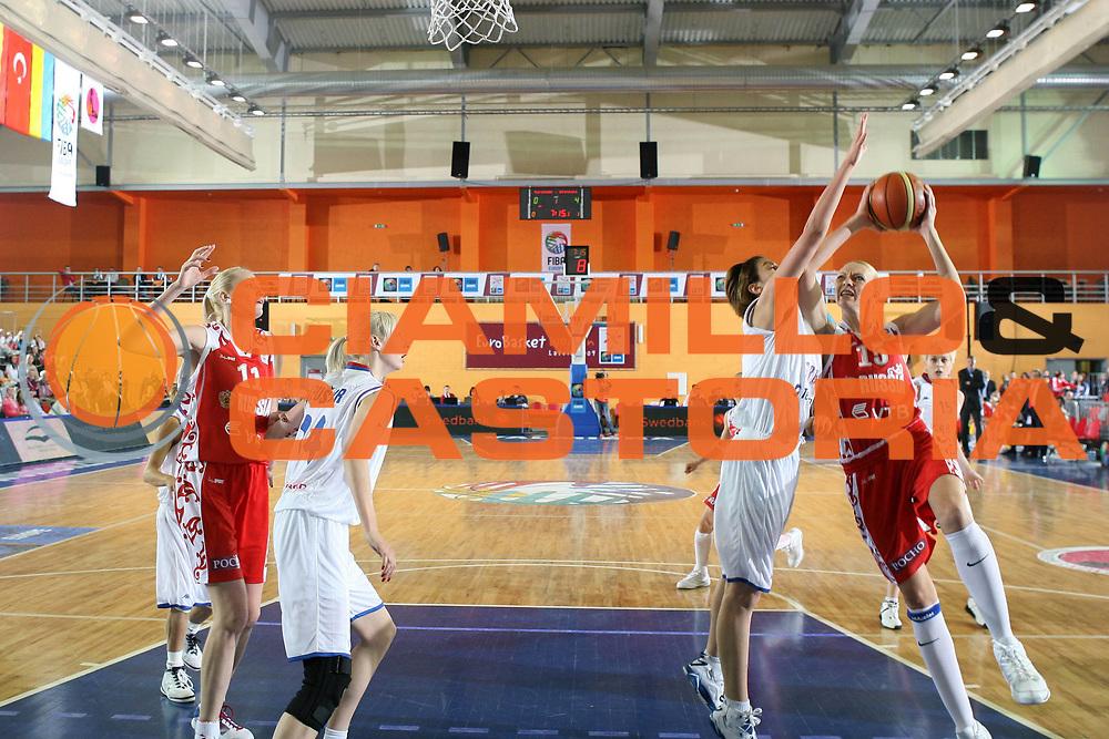 DESCRIZIONE : Valmiera Latvia Lettonia Eurobasket Women 2009 Russia Serbia<br /> GIOCATORE : Irina Osipova<br /> SQUADRA : Russia<br /> EVENTO : Eurobasket Women 2009 Campionati Europei Donne 2009 <br /> GARA : Russia Serbia<br /> DATA : 08/06/2009 <br /> CATEGORIA : tiro<br /> SPORT : Pallacanestro <br /> AUTORE : Agenzia Ciamillo-Castoria/E.Castoria<br /> Galleria : Eurobasket Women 2009 <br /> Fotonotizia : Valmiera Latvia Lettonia Eurobasket Women 2009 Russia Serbia<br /> Predefinita :