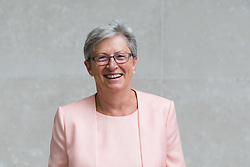 © Licensed to London News Pictures. 09/09/2018. London, UK.  Gisela Stuart, Brexit campaigner and politician arrives at BBC Broadcasting House to appear on the Andrew Marr show.  Photo credit: Vickie Flores/LNP