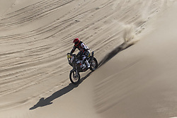 Slovenian Enduro Biker Miran Stanovnik competes during 35th rally Dakar - 2013 edition from Lima (Peru) towards Santiago (Chile), on January 7, 2013. (Photo by MaindruPhoto)