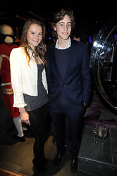AMBER ATHERTON and ALEX COLERIDGE at the Tatler Little Black Book Party held at Chinawhite, 4 Winsley Street, London on 20th November 2009.