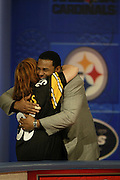 Pittsburgh Steelers running back Jerome Bettis appears on NFL Players Week on Wheel of Fortune on 11/04/2003. ©Paul Anthony Spinelli