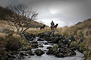 Lewis Hendrie fly fishing on Dartmoor with Wilderness TV