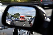 Duitsland, Autobahn A2, 23-7-2012File wegens wegwerkzaamheden.Foto: Flip Franssen/Hollandse Hoogte